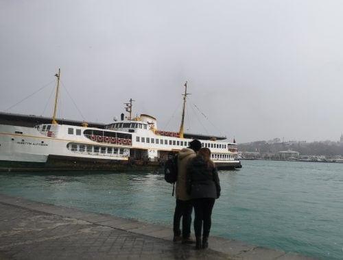 Barcos de Estambul
