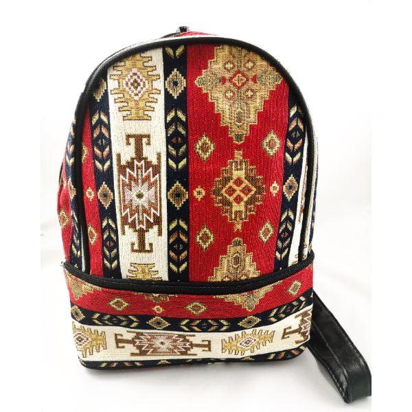 mochila de tela