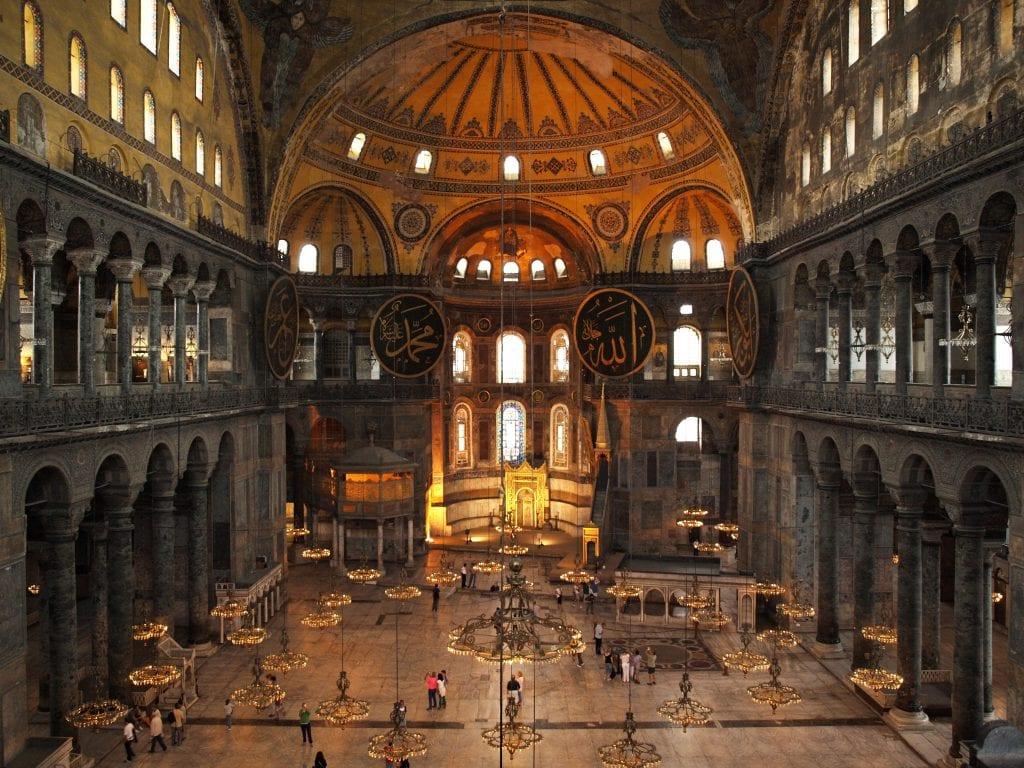 La belleza legendaria de Santa Sofía, Artesanía de Turquía