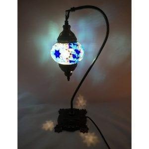 lámpara turca de mosaico