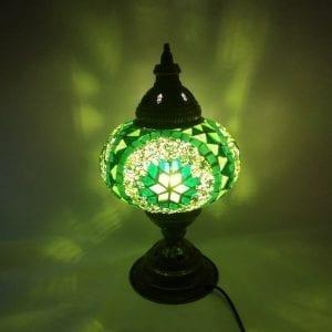 Lámparas de mosaico