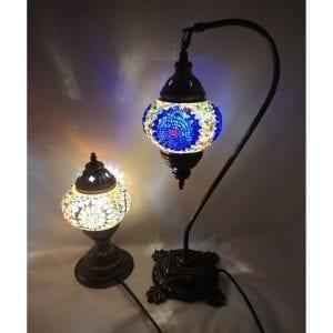 Lámparas y portavelas