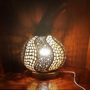 Lámpara de calabaza Bodrum Dogal