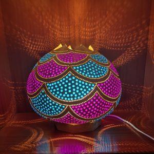 Lámpara de calabaza Bodrum Dalgalar