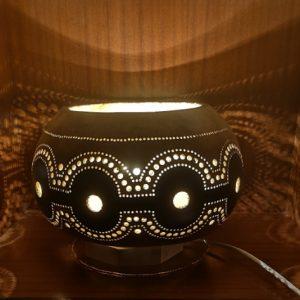 Lámpara de calabaza Bodrum Kahverengi