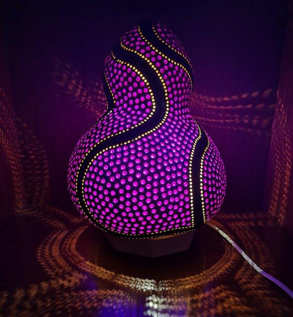 Lámpara de calabaza Bodrum Mor
