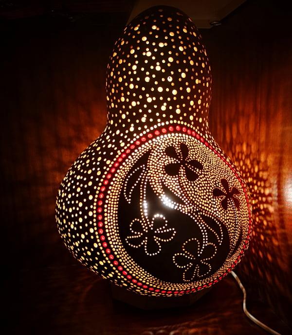 Lámpara de calabaza Bodrum Çiçek