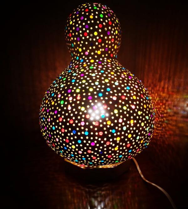 Lámpara de calabaza Bodrum Renkli