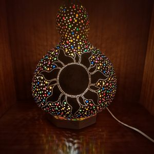 Lámpara de calabaza Bodrum Gunes