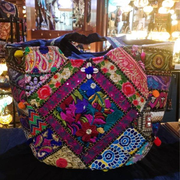 Bolso de patchwork Jaipur