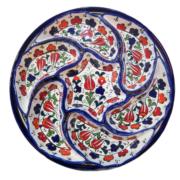 Bandeja de cerámica desmontable Beyaz
