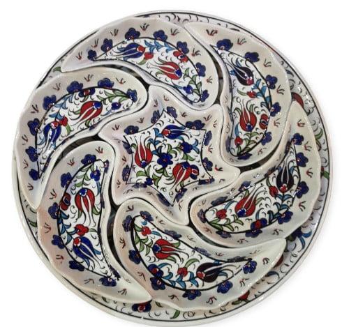 Bandeja de cerámica desmontable Mavi