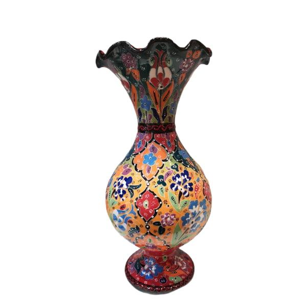 Jarrón de cerámica Çiçekler