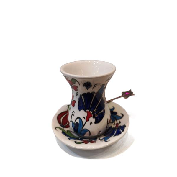 Vaso para té de cerámica