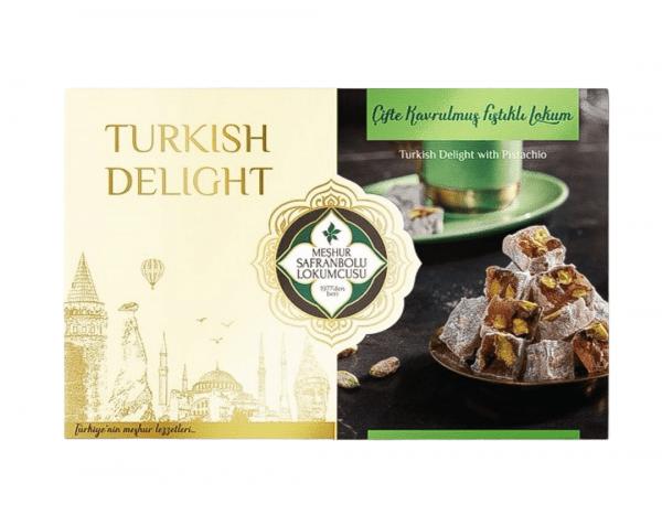 Delicias turcas de pistacho