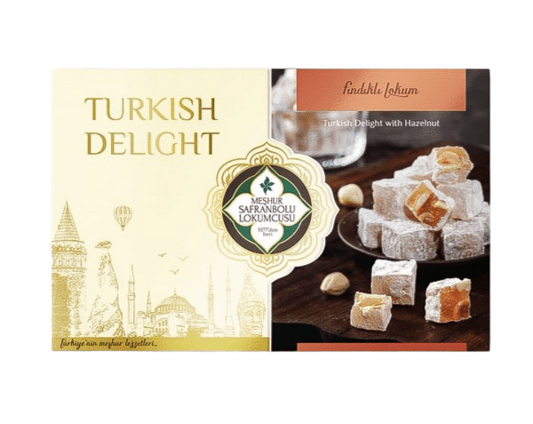 Delicias turcas de avellanas