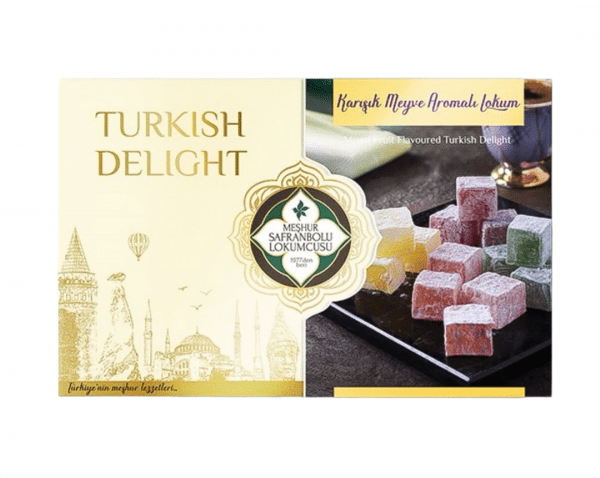 Delicias turcas de frutas