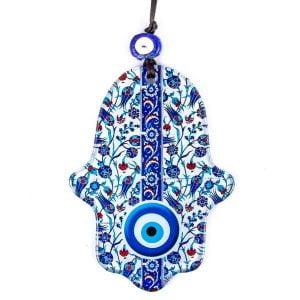 Amuleto mano de Fátima y ojo turco
