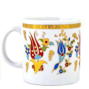 Taza de porcelana Lale 2